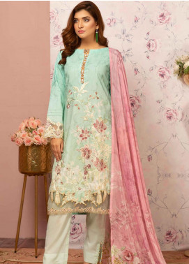 Khas Embroidered Lawn Unstitched 3 Piece Suit KHS20SV KSE-8027 Nenvana - Spring / Summer Collection
