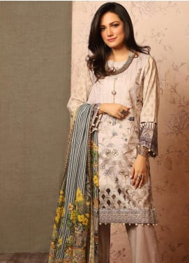 Khas Embroidered Lawn Unstitched 3 Piece Suit KHS20SV KSE-8029 Simplicity - Spring / Summer Collection
