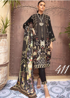 Khoobseerat by Shaista Embroidered Peach Unstitched 3 Piece Suit SHT20KB 411 - Winter Collection