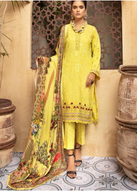 Khoobseerat by Shaista Embroidered Peach Unstitched 3 Piece Suit SHT20KB 415 - Winter Collection