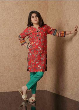 Waniya Lawn Printed 2 Piece Suit for Girls -  WKA20-01