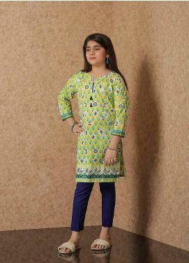 Waniya Lawn Printed Girls 2 Piece Suit -  WKA20-06