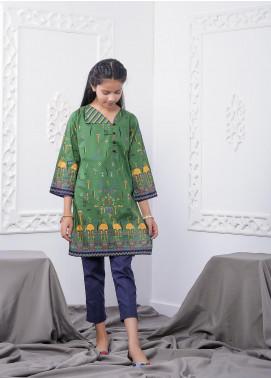 Waniya Lawn Printed 2 Piece Suit for Girls -  WKA20-09