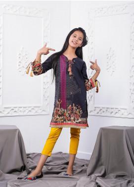 Waniya Lawn Printed 2 Piece Suit for Girls -  WKA20-12