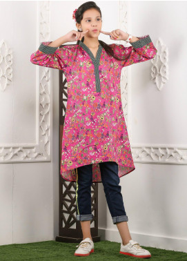 Waniya Cotton Printed Kurtis for Girls -  WKA20-13