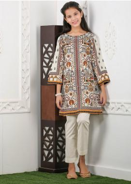 Waniya Cotton Printed Girls 2 Piece Suit -  WKA20-20