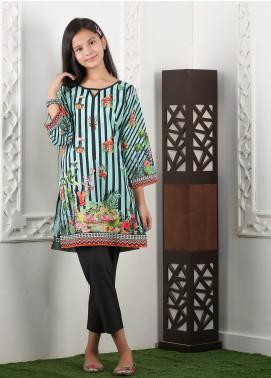 Waniya Cotton Printed 2 Piece Suit for Girls -  WKA20-21