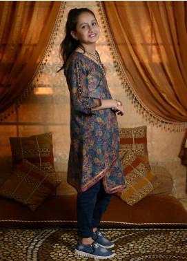 Nargis Shaheen Cotton Formal Kurtis for Girls -  NSK-010 Grey