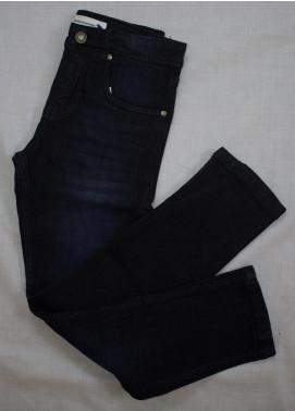 Kids Polo Cotton Casual Boys Pants -  KP20BW BDSP 20206 Blue Denim