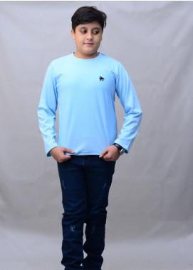 Kids Polo Cotton Casual Boys T-Shirts -  KP20BW BJWK20207 Black T-Shirt