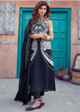 Kinaar by Shiza Hassan Embroidered Lawn Unstitched 3 Piece Suit KSH20SS 07 KANWAL - Spring / Summer Collection
