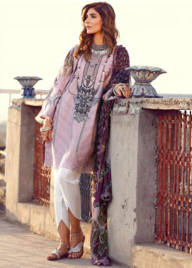 Kinaar by Shiza Hassan Embroidered Lawn Unstitched 3 Piece Suit KSH20SS 10 KAASNI - Spring / Summer Collection