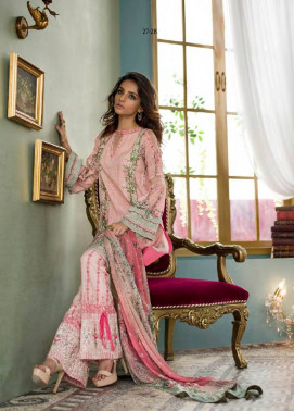 Komal By LSM Embroidered Lawn Unstitched 3 Piece Suit KM17E KE2022A