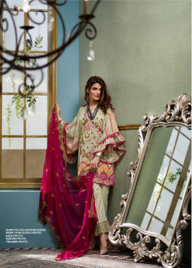 Komal By LSM Embroidered Lawn Unstitched 3 Piece Suit KM17E KE6066A