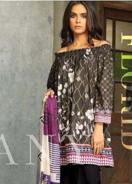 Lakhany Printed Lawn Unstitched 3 Piece Suit KL20LSM 01 - Spring / Summer Collection