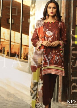 Lakhany Printed Lawn Unstitched 3 Piece Suit KL20LSM 02 - Spring / Summer Collection
