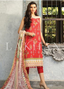 Lakhany Printed Lawn Unstitched 3 Piece Suit KL20LSM 03 - Spring / Summer Collection