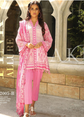 Lakhany Printed Lawn Unstitched 3 Piece Suit KL20LSM 10 - Spring / Summer Collection
