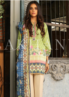 Lakhany Printed Lawn Unstitched 3 Piece Suit KL20LSM 11 - Spring / Summer Collection