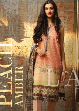 Lakhany Printed Lawn Unstitched 3 Piece Suit KL20LSM 12 - Spring / Summer Collection