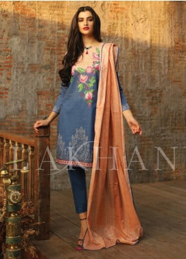 Lakhany Printed Lawn Unstitched 3 Piece Suit KL20LSM 20 - Spring / Summer Collection