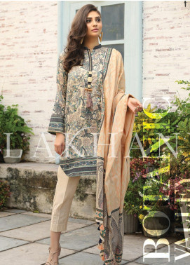 Lakhany Printed Lawn Unstitched 3 Piece Suit KL20LSM 22 - Spring / Summer Collection