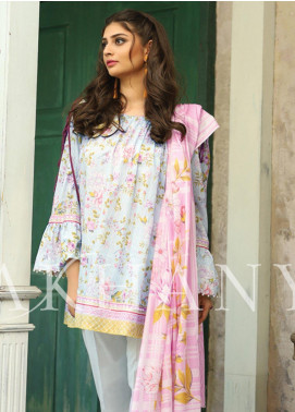 Lakhany Printed Lawn Unstitched 3 Piece Suit KL20LSM 24 - Spring / Summer Collection