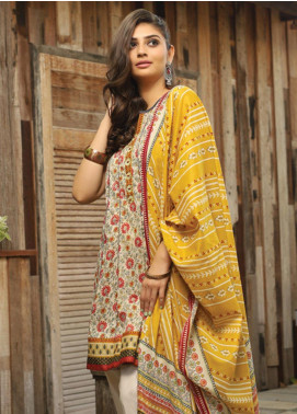 Lakhany Printed Lawn Unstitched 3 Piece Suit KL20LSM 25 - Spring / Summer Collection