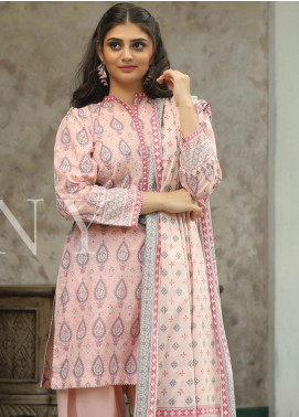 Lakhany Printed Lawn Unstitched 3 Piece Suit KL20LSM 29 - Spring / Summer Collection