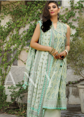 Lakhany Printed Lawn Unstitched 3 Piece Suit KL20LSM 30 - Spring / Summer Collection