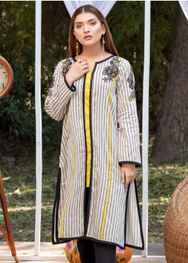 Kross Kulture Casual Cotton Stitched Kurti KB 20092 BEIGE