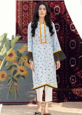 Kross Kulture Formal Cotton Stitched Kurtis KB 20123 SKIN
