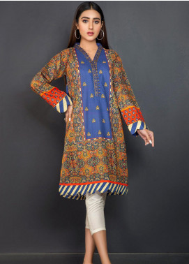 Kross Kulture Embroidered Khaddar Stitched Kurtis KPR-20626