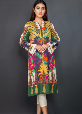 Kross Kulture Printed Khaddar Stitched Kurtis KPR-20630