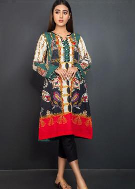 Kross Kulture Printed Khaddar Stitched Kurtis KPR-20631