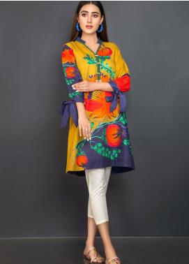 Kross Kulture Printed Khaddar Stitched Kurtis KPR-20632