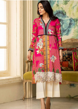 Kross Kulture Embroidered Lawn Unstitched 2 Piece Suit KK20ZS-2 BEEHIVE MZB-031 - Spring / Summer Collection