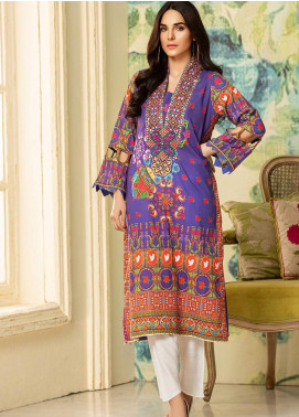 Kross Kulture Embroidered Lawn Unstitched Kurties KK20ZS-2 BOHO MZB-032 - Spring / Summer Collection