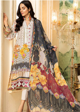 Kross Kulture Embroidered Lawn Unstitched 3 Piece Suit KK20ZS-2 NEO MZB-026 - Spring / Summer Collection