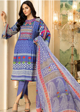 Kross Kulture Embroidered Lawn Unstitched 3 Piece Suit KK20ZS-2 SHIBORI MZB-030 - Spring / Summer Collection