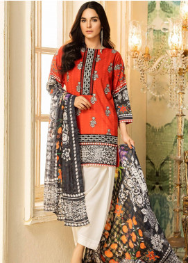 Kross Kulture Embroidered Lawn Unstitched 2 Piece Suit KK20ZS-2 SICILY MZB-029 - Spring / Summer Collection