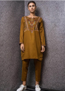 Kuli Jume Embroidered Cotton Stitched 2 Piece Suit KJ-03-19-005 Uzbek Naqsh
