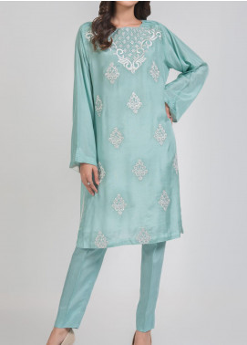 Kuli Jume Embroidered Silk Stitched 2 Piece Suit Ishq-e-Falaq