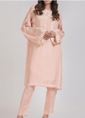 Kuli Jume Embroidered Silk Stitched 2 Piece Suit Ishq-e-Gulab