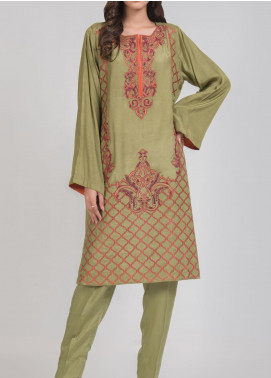Kuli Jume Embroidered Silk Stitched 2 Piece Suit Ishq-e-Henna