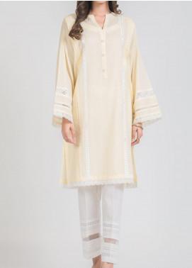 Kuli Jume Fancy Jacquard Stitched Kurties Ishq-e-Khakistri