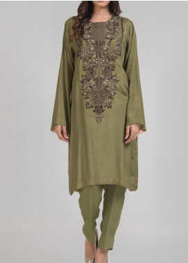 Kuli Jume Embroidered Silk Stitched 2 Piece Suit Ishq-e-Masbat