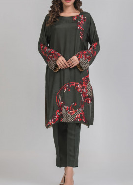 Kuli Jume Embroidered Silk Stitched 2 Piece Suit Ishq-e-Muqadas