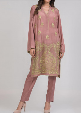Kuli Jume Embroidered Silk Stitched 2 Piece Suit Ishq-e-Ooda