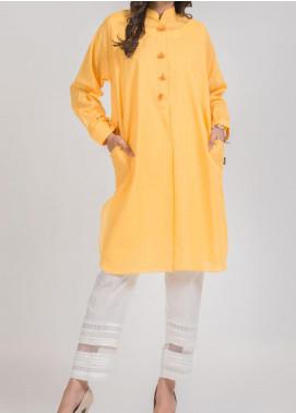 Kuli Jume Fancy Lawn Stitched Kurties Ishq-e-Zard